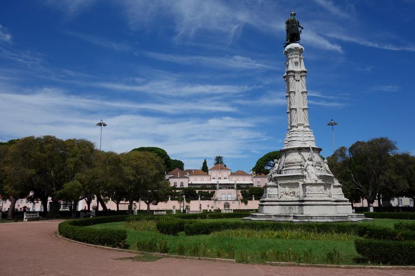 Praça Afonso de Albuquerque, Belém, Lissabon.