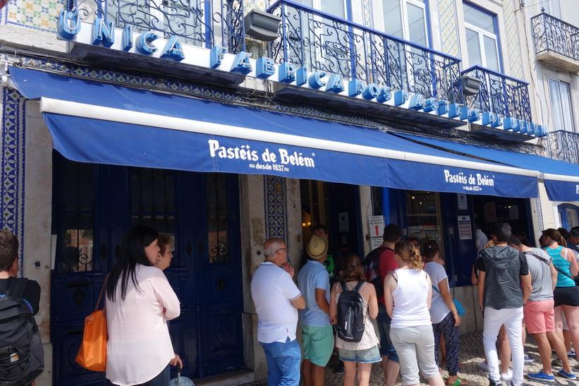 Anrika Pastéis de Belém, Belém, Lissabon.