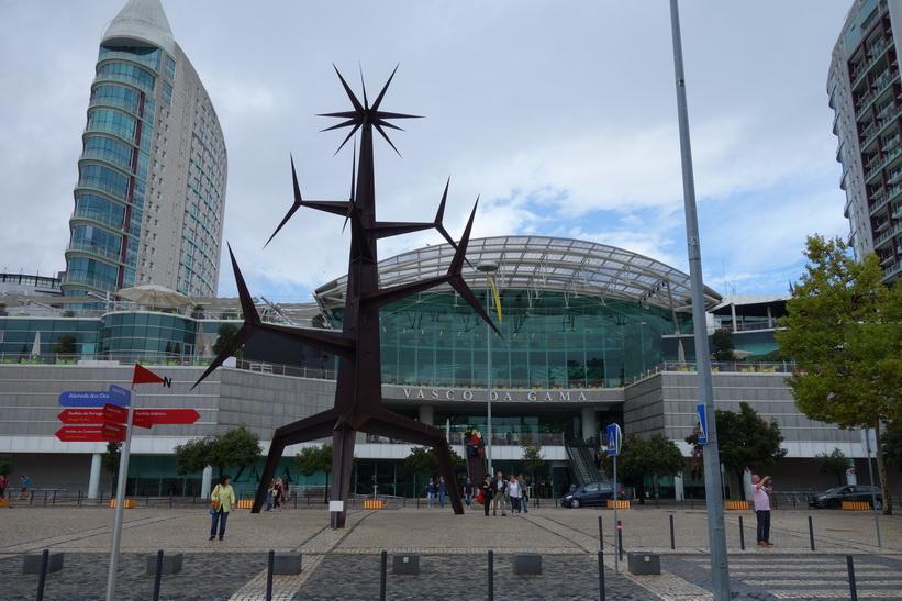 Shoppingcenter Vasco da Gama, Parque das Nações, Lissabon.