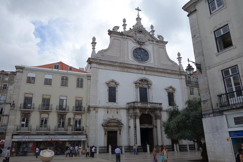 Largo de São Domingos, Lissabon.