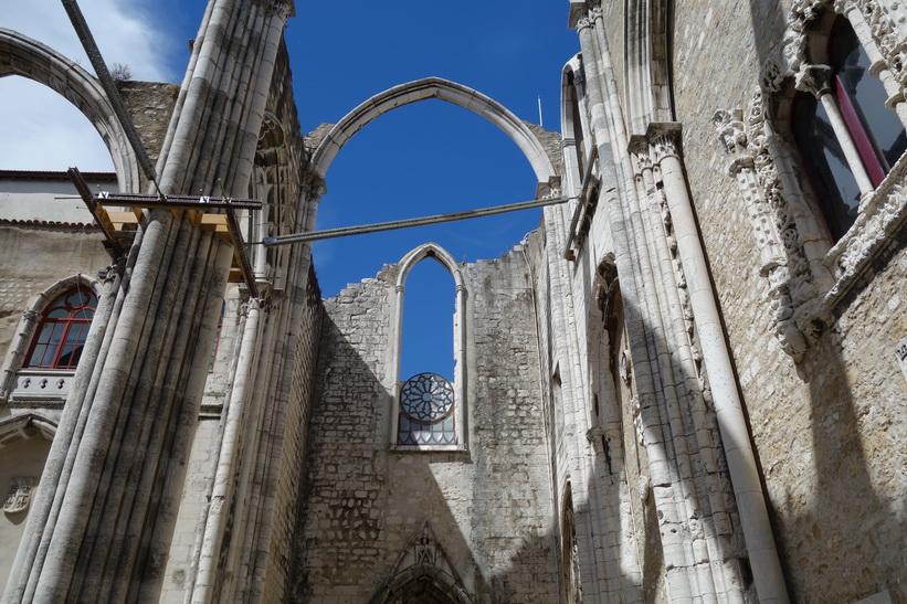 Convento do Carmo, Lissabon.