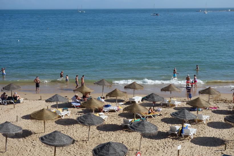 Stranden Praia da Conceição, Cascais, Portugal.
