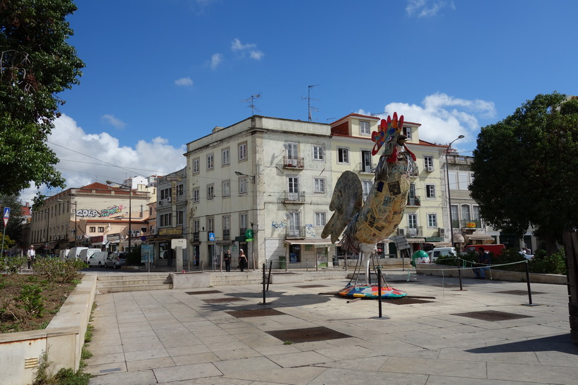Praça Martim Moniz, Lissabon.