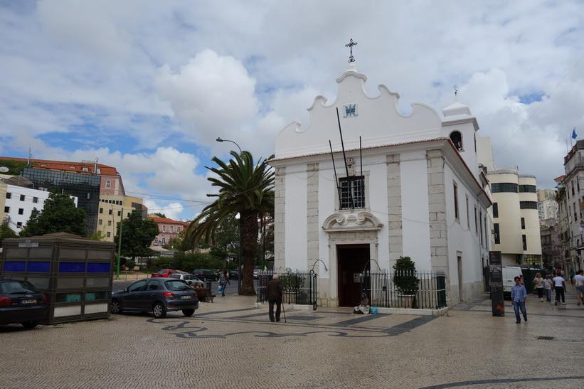 Kyrkan vid Praça Martim Moniz, Lissabon.