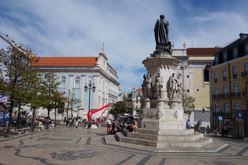 Praça de Luís de Camões, Lissabon.
