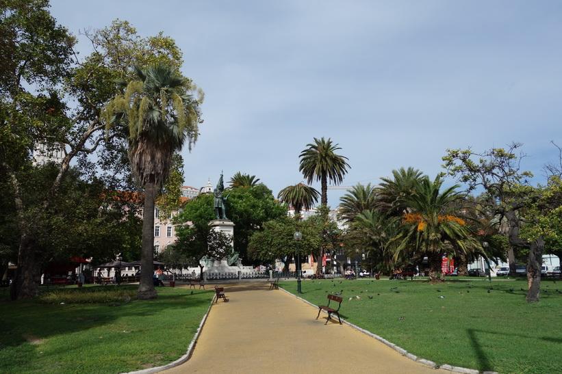 Praça Dom Luís I, Lissabon.