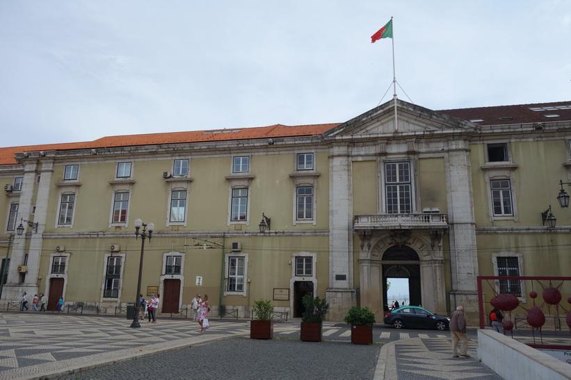 Praça do Município, Lissabon.