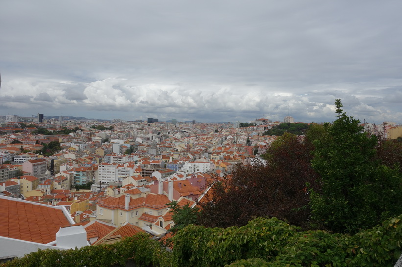 Utsiktsplats Miradouro da Senhora do Monte, Lissabon.