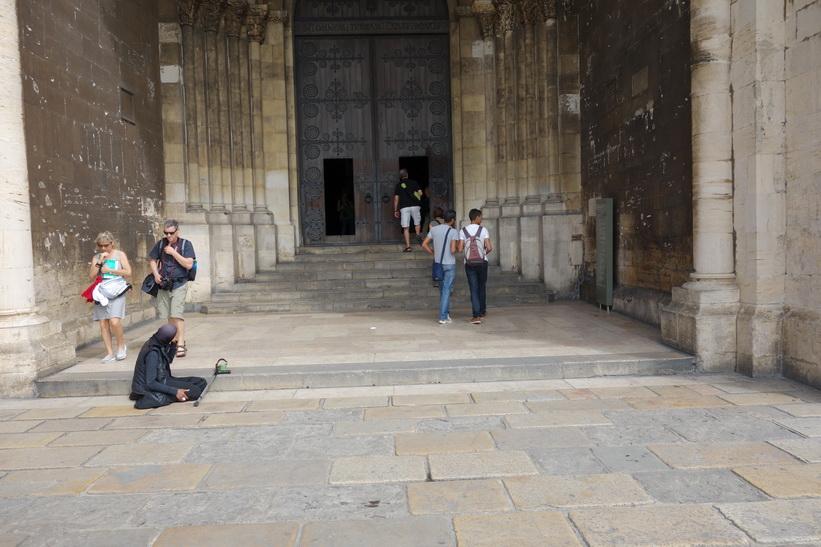 Katedralen Sé. Lissabons äldsta kyrka byggd på 1100-talet.