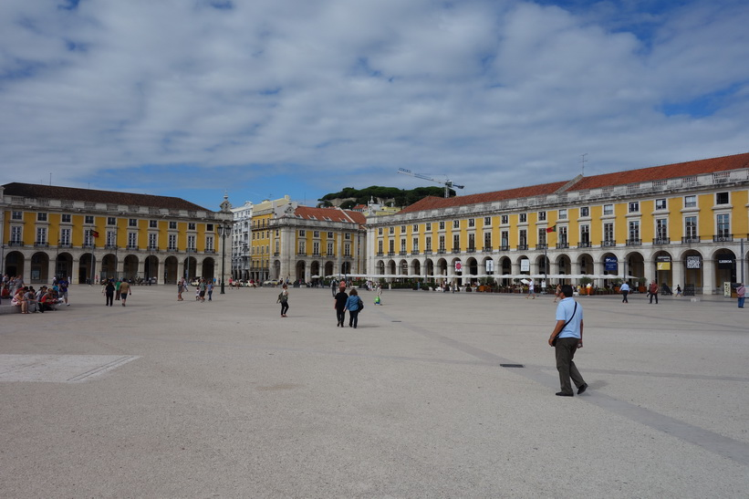 Praça do Comercio i hjärtat av Lissabon.