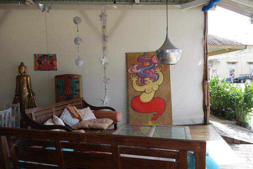 Restaurang med stil, Bocas Town, Bocas del Toro.