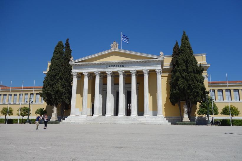 Zappeion i södra delen av nationalparken, Aten.