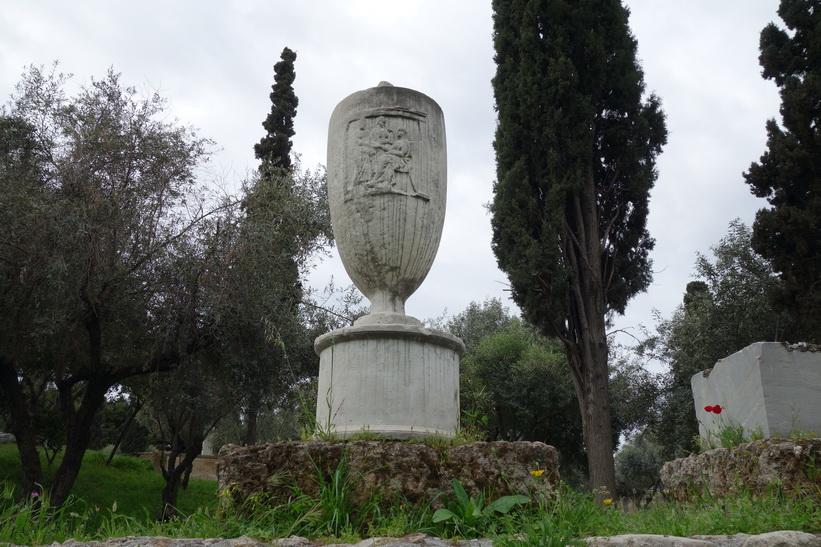 Skulptur, Kerameikos, Aten.