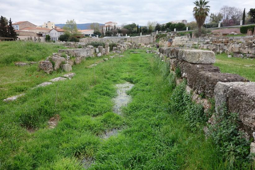 Den heliga vägen. Kerameikos, Aten.