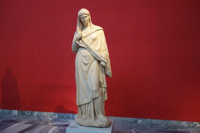 Arkeologiska nationalmuseét i Aten.
