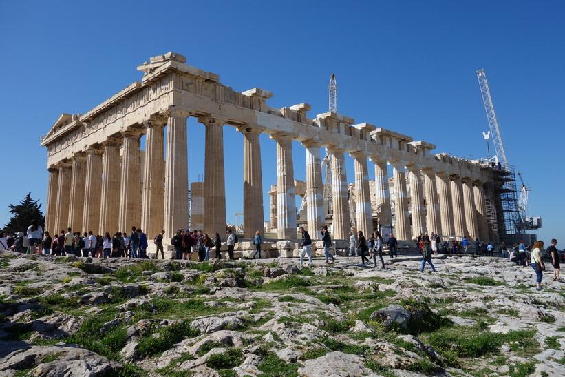 Parthenon, Akropolis, Aten.