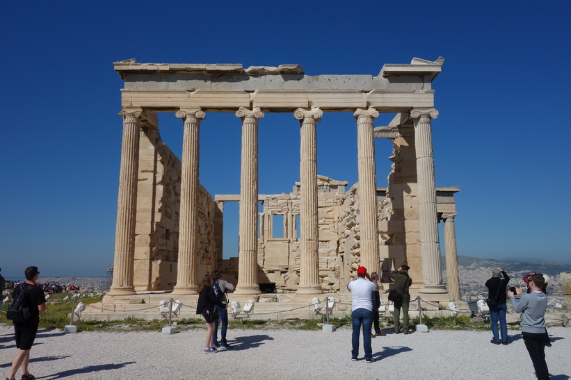 Erechtheion, Akropolis, Aten.