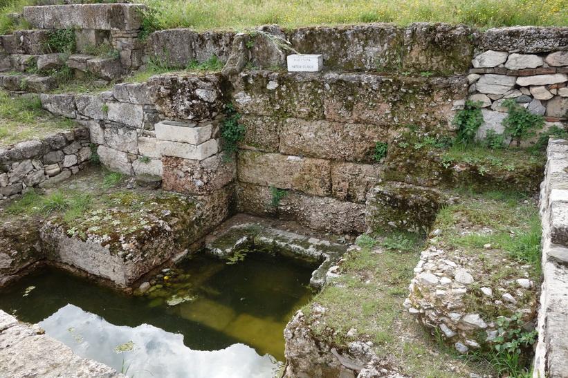 Vattenur, antika Agoran, Aten.
