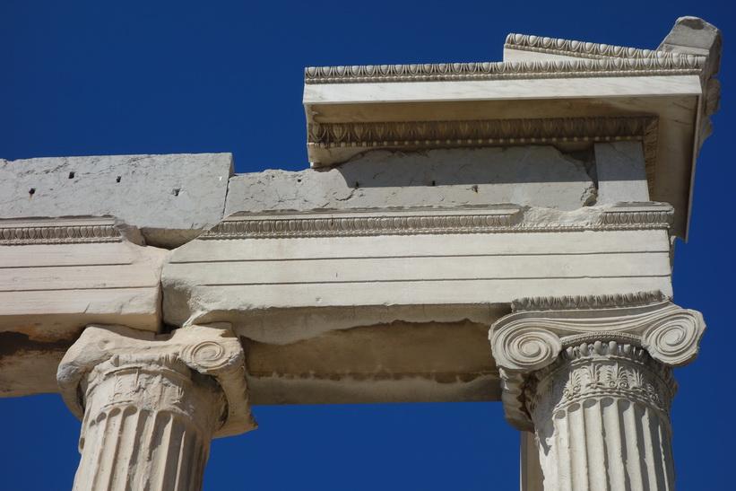 Del av Erechtheion, Akropolis, Aten.