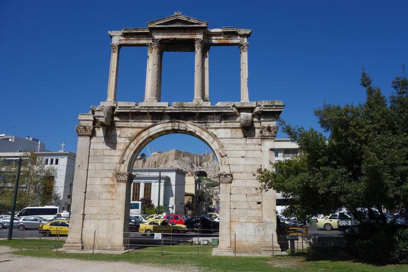 Kejsar Hadrianus valvbåge, Aten.