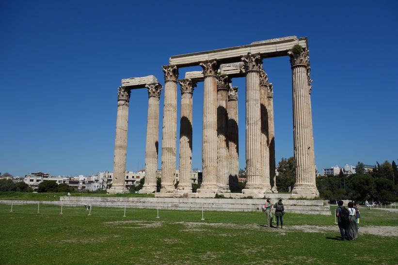 Zeustemplet, Aten.