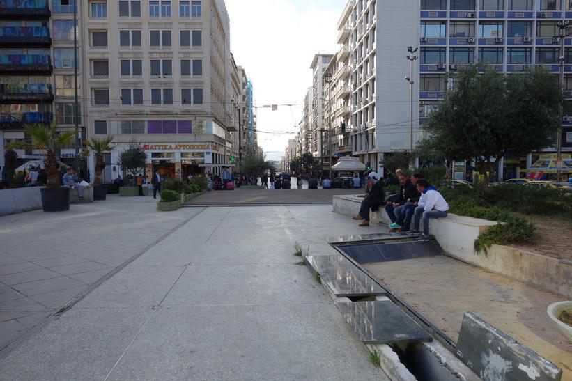 Plateia Omonia, Aten.
