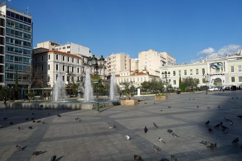 Plateia Kotzia, Aten.