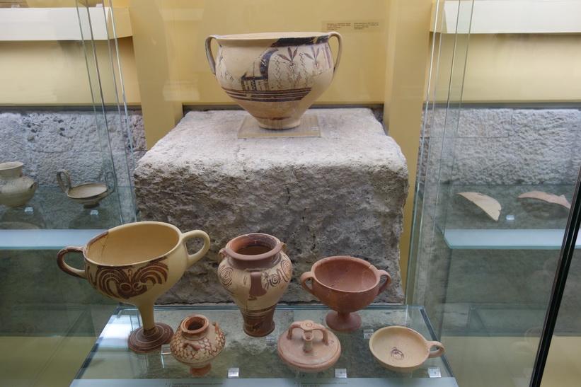 Muséet i Attalos stoa, antika Agoran, Aten.