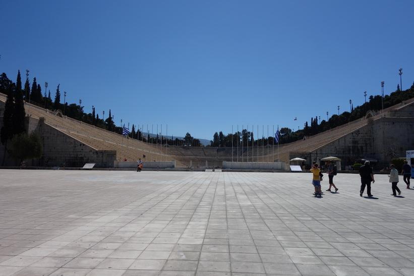 Kallimármarostadion, Aten.