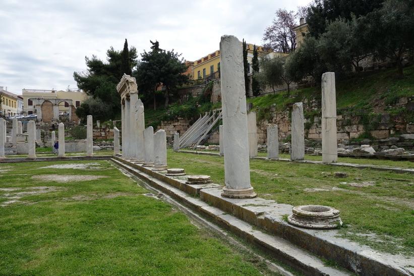 Östra porten, romerska Agoran, Aten.
