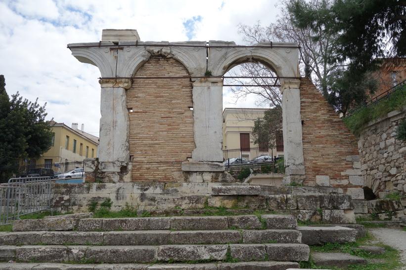Romerska Agoran, Aten.