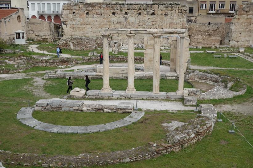 Hadrianus bibliotek, Aten.