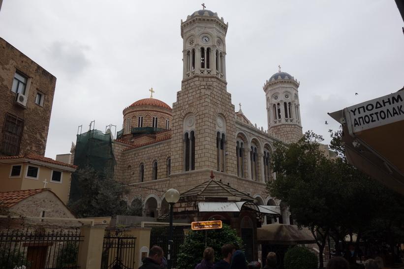 Kyrkan Ekklisia Kimisi Theotokou Chrisospileotissis, Aten.