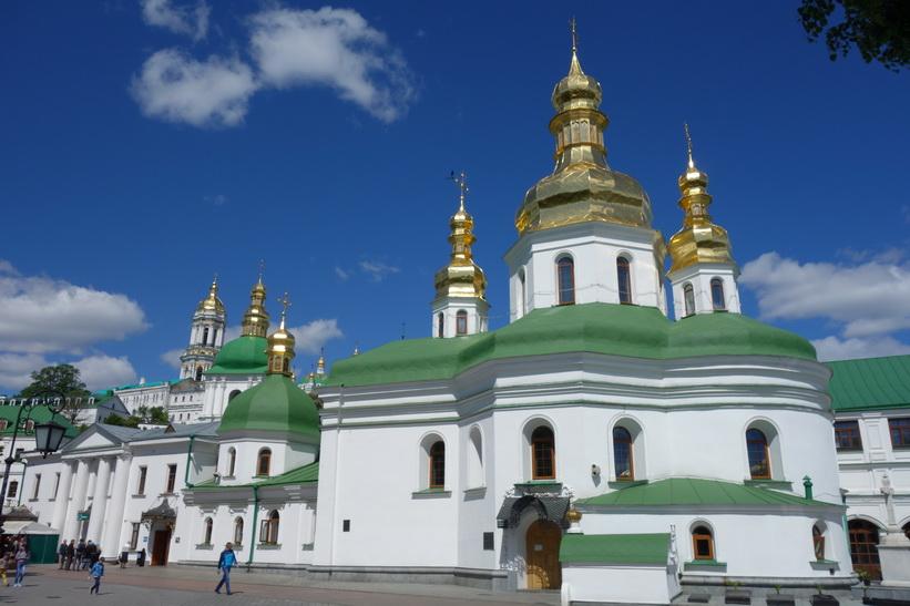 Krestovozdvizhenskaya-kyrkan, Kievo-Petjerskaja lavra, Kyiv.