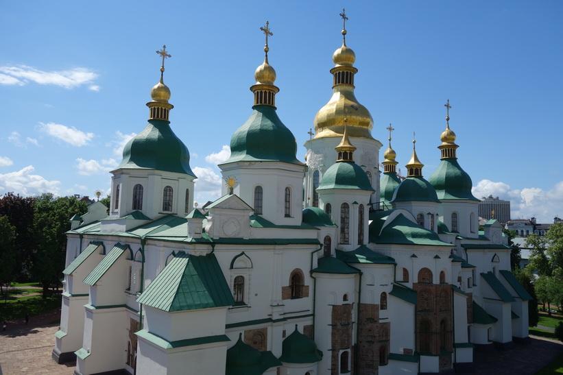 Sofiakatedralen, Kyiv.