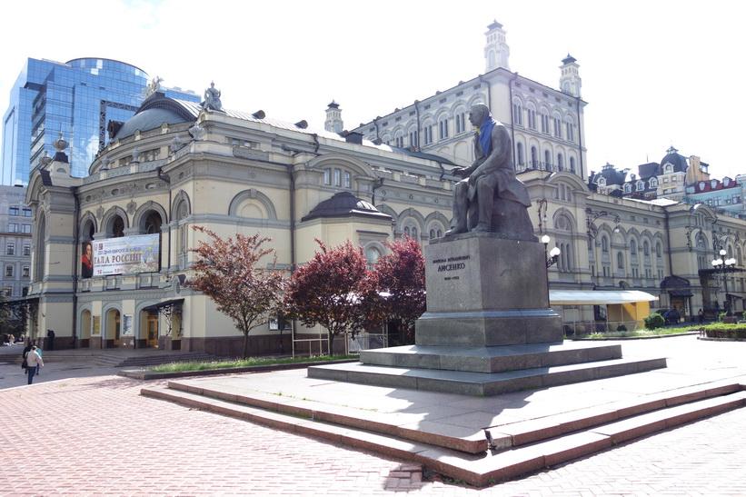 Operahuset i Kyiv som öppnades år 1867.