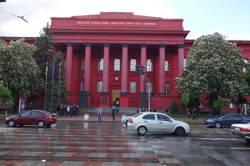 Universitetet i Kyiv.