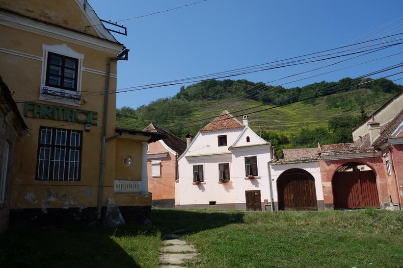Biertan, saxon-byn i Transsylvanien.
