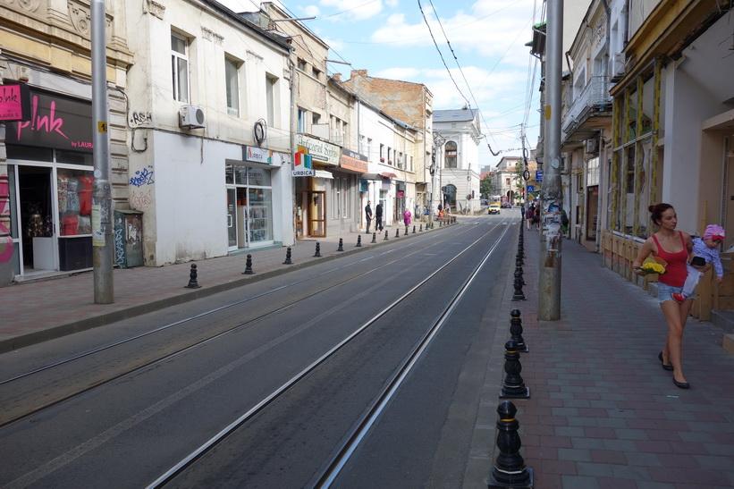 Gatuscen i Iași.