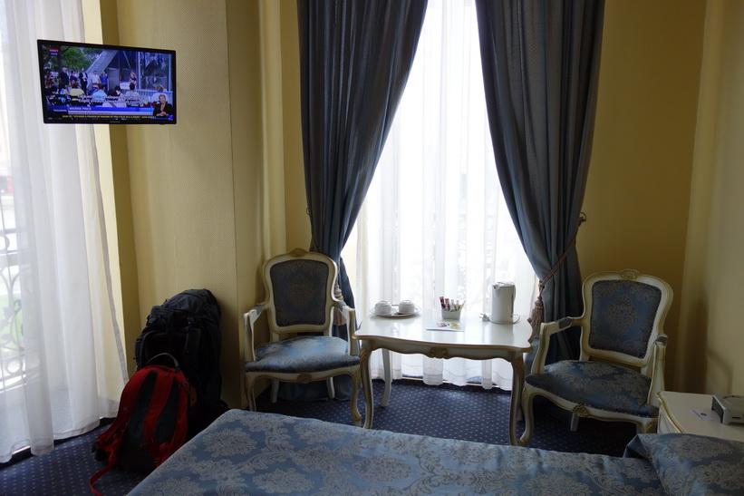 Grand Hotel Traian, mitt boende i Iași. /><br /> <img title=