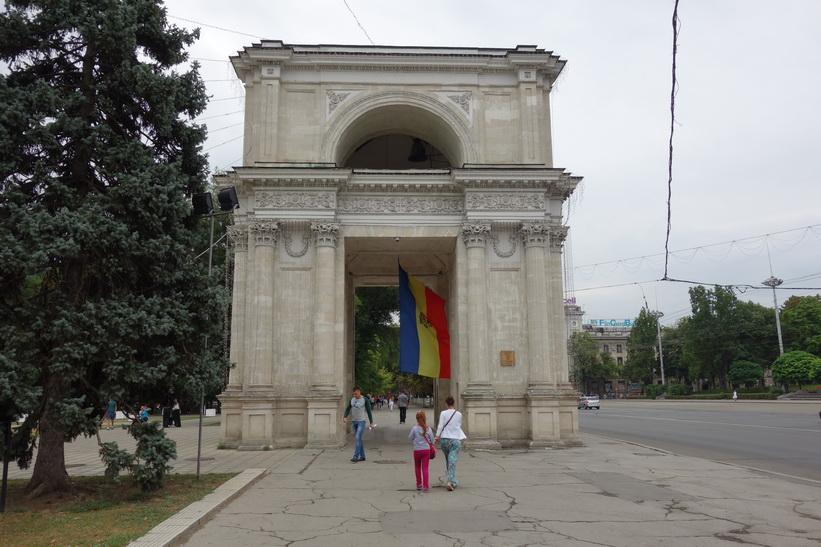 Arc de Triomphe, Parcul Catedralei, Chișinău.