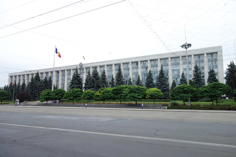 Government house, Chișinău.