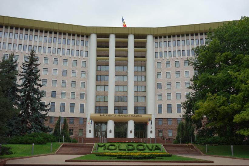 Parlamentet i Chișinău.