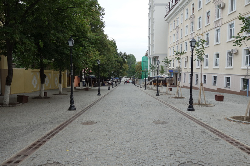 Strada Alexandru Diordiţă, Chișinău.