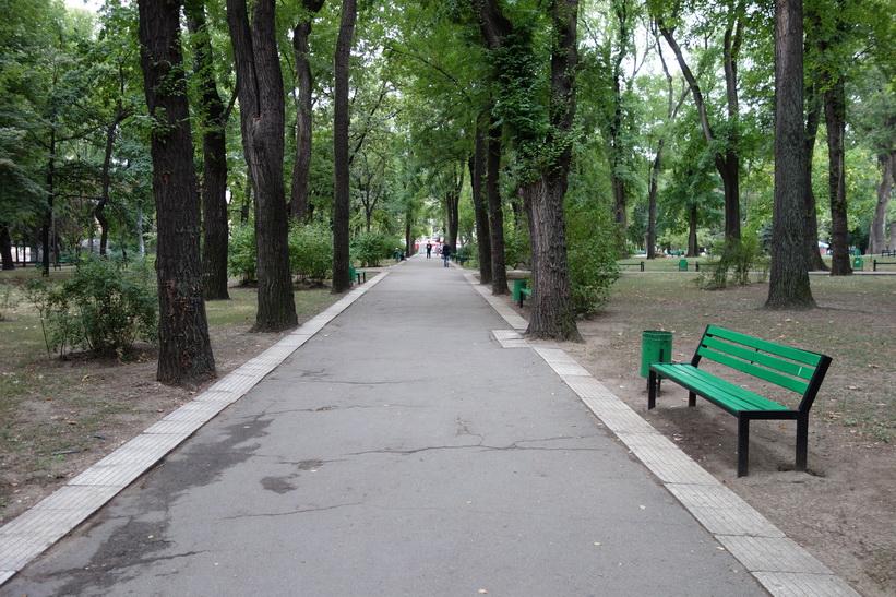 Parcul Catedralei, Chișinău.