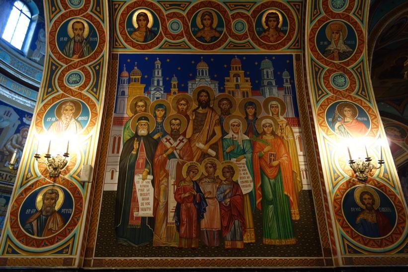 Orthodox Cathedral, Parcul Catedralei, Chișinău.