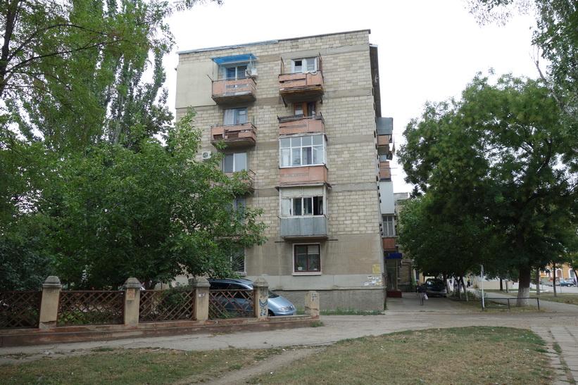 Bostadshus i centrala Tiraspol.