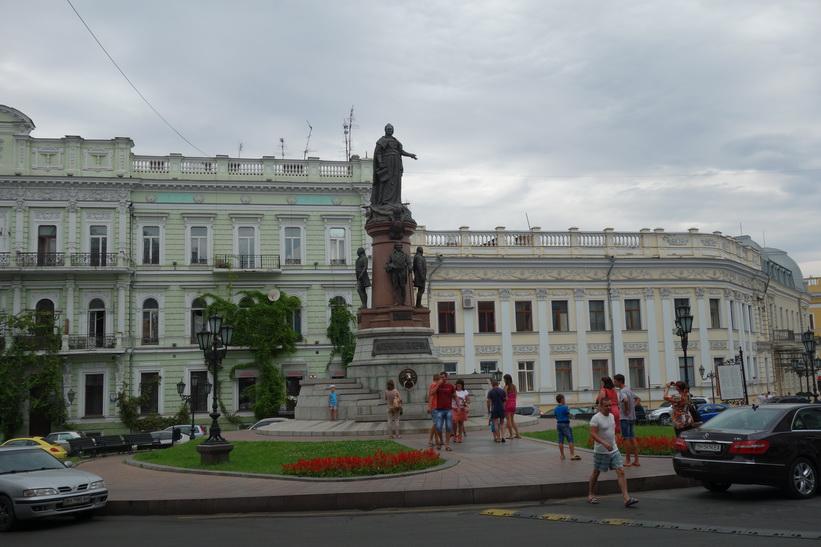 Monument to Catherine II, Odessa.
