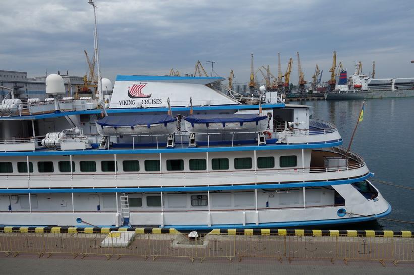 Hamnen i Odessa.