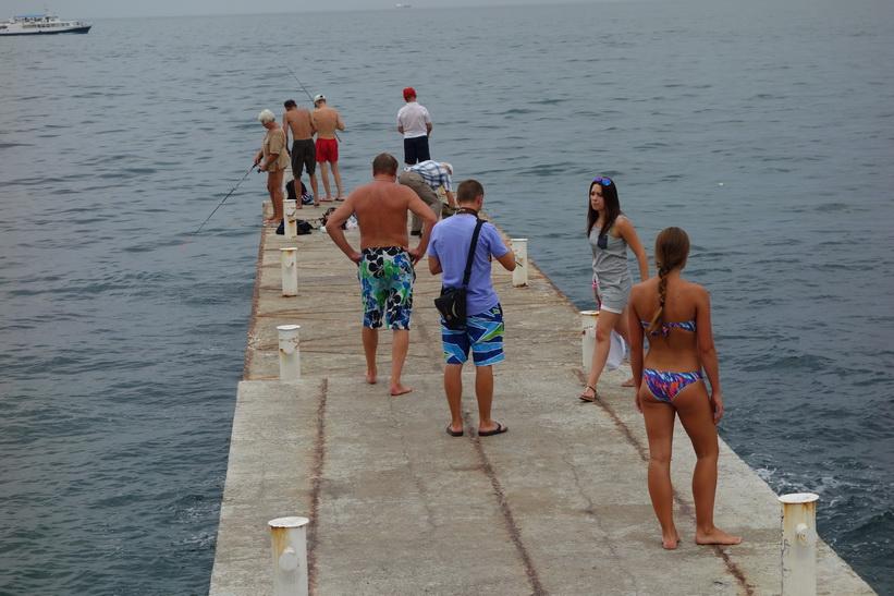 Langeron beach, Odessa.